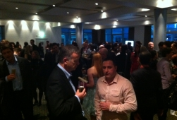 Networking at the NetGuide Web Awards Ceremony