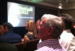 NetGuide Web Awards Ceremony has just started