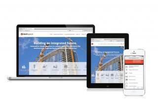 Nextspace responsive website design